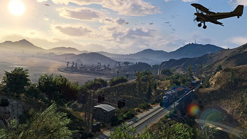 Grand Theft Auto V Panorama