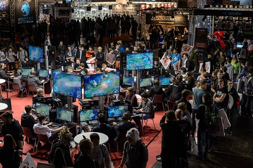 League of Legends auf der DreamHack.