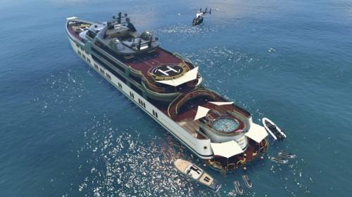 Grand Theft Auto V Yacht