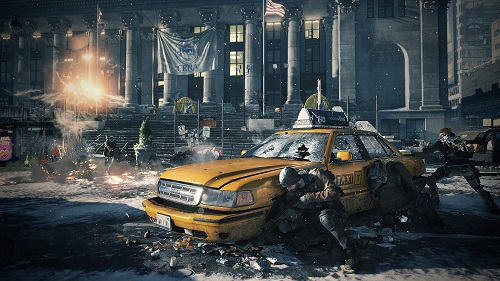 The Division Taxi Screenshot