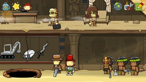 Scribblenauts Indiana Jones