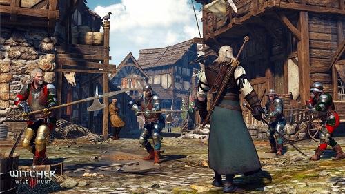 Witcher 3 Kampf