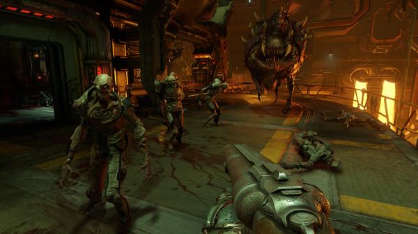 Grafisch macht das neue Doom eine gute Figur.