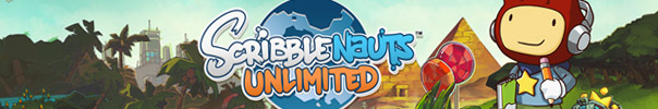 Scribblenauts Unlimited Banner