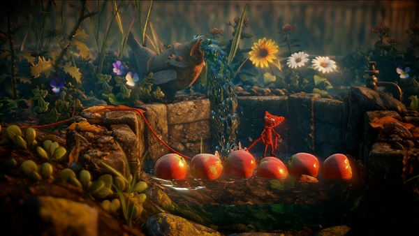 Unravel Äpfel Screenshot