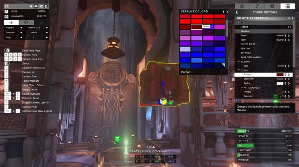 Halo 5 Forge Editor