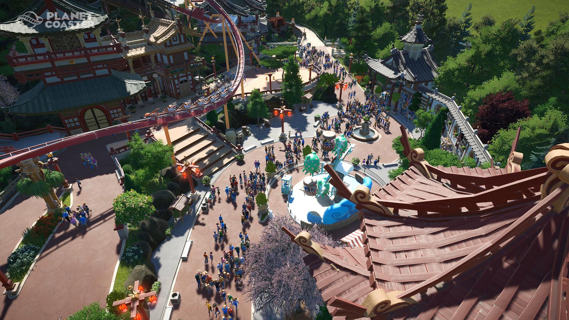 Planet Coaster Asiatischer Park