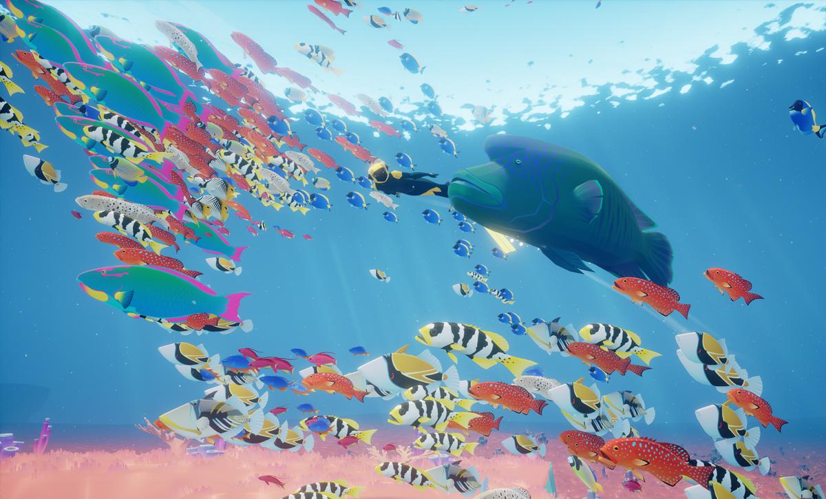 ABZÛ Fischschwarm