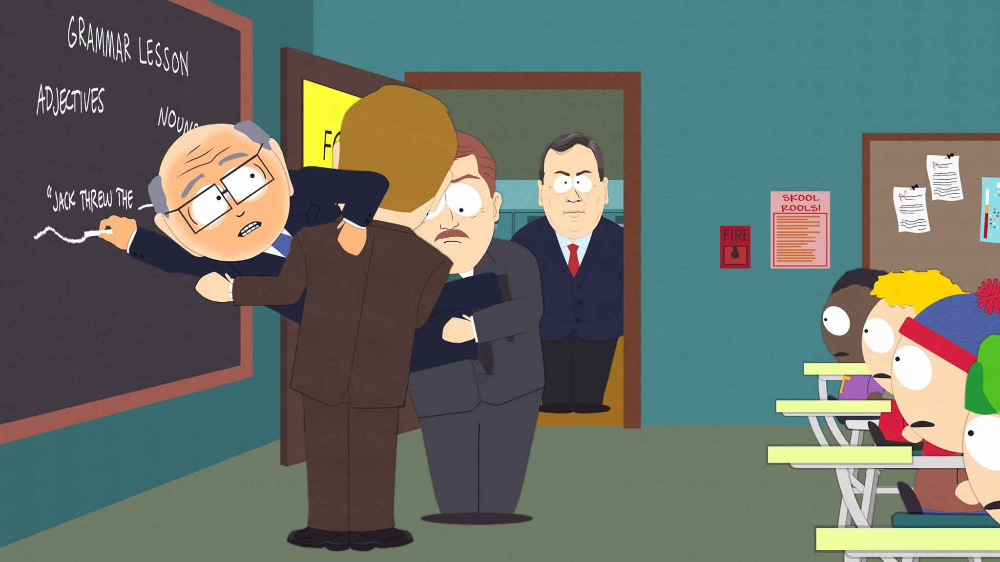 South Park Garrison Trump