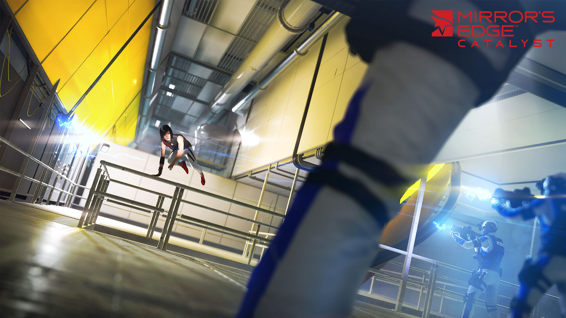 Mirror's Edge Catalyst Kampf