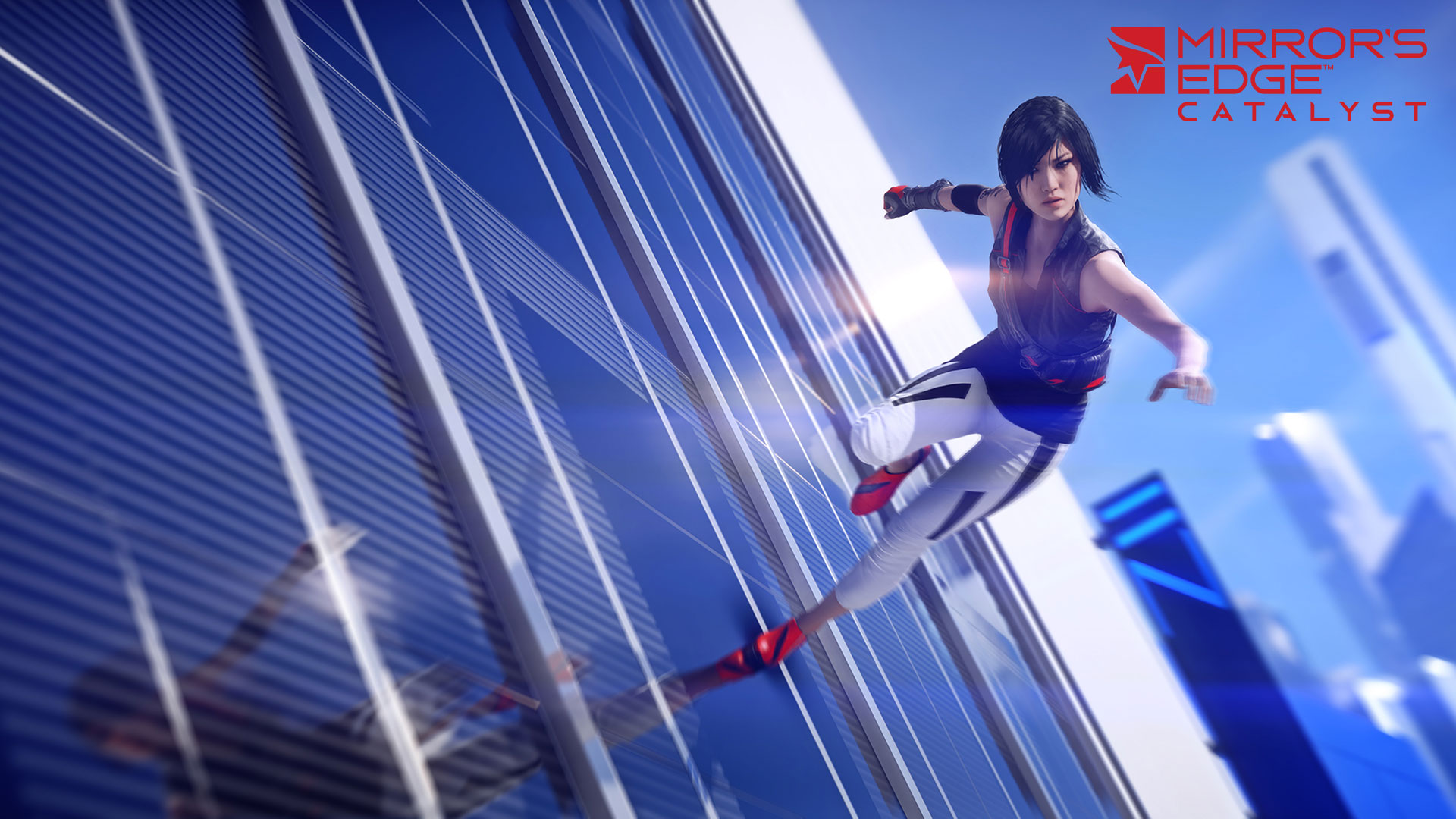 Mirror's Edge Catalyst Wallrun