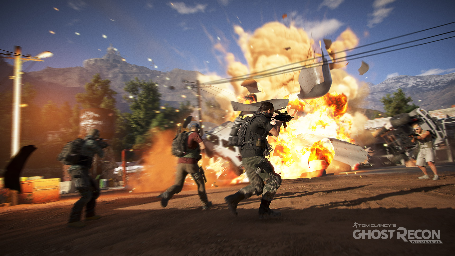 Ghost Recon Wildlands Explosion