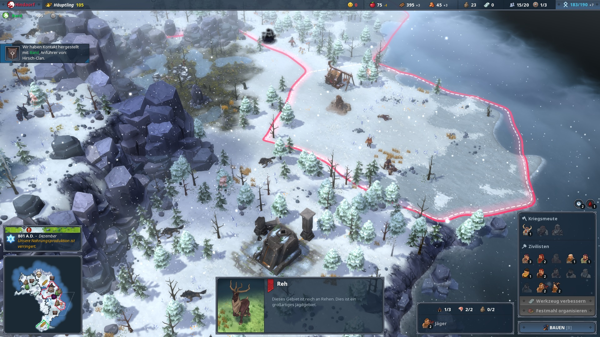 Northgard Winter