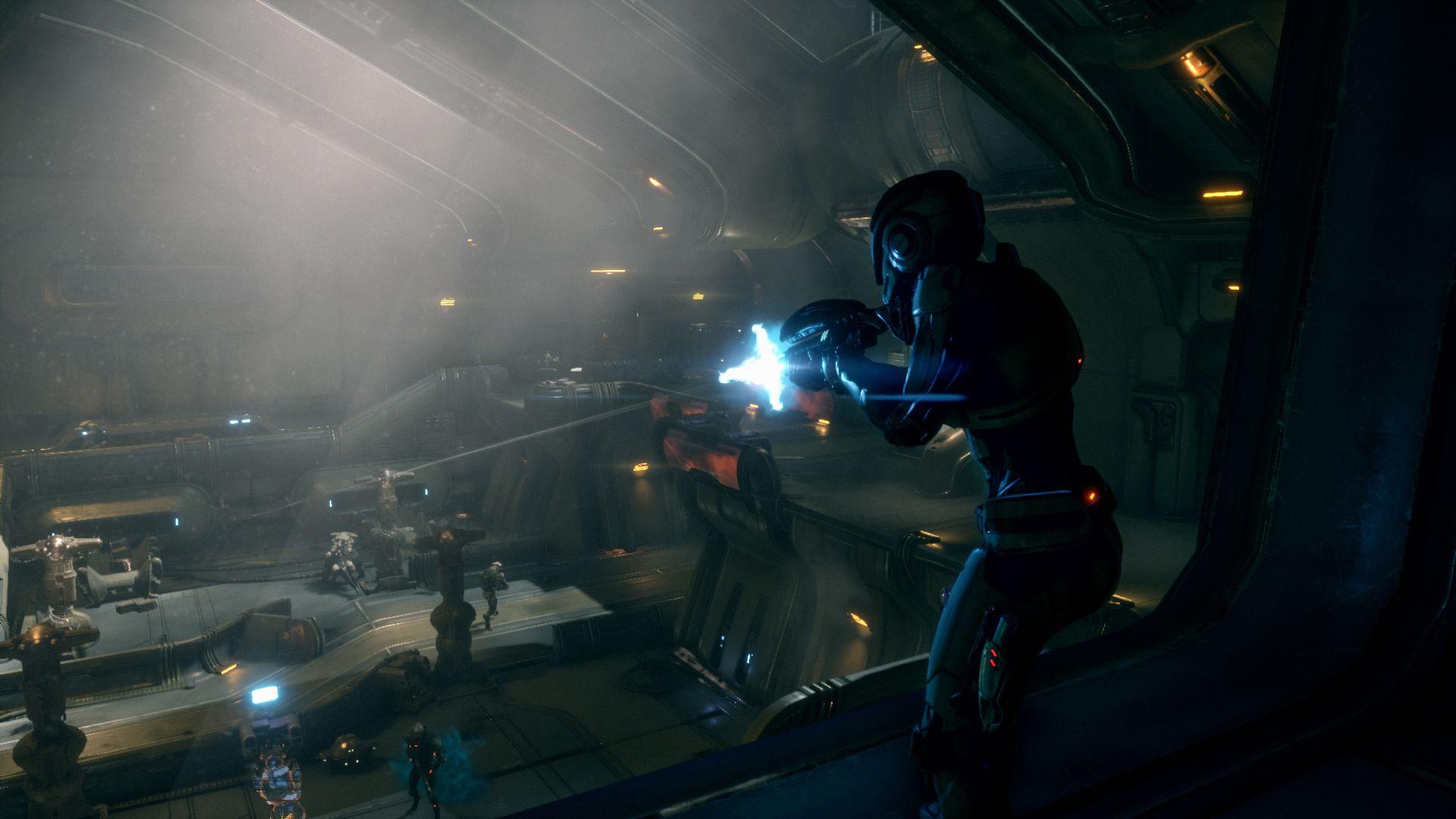Mass Effect Andromeda Kampf