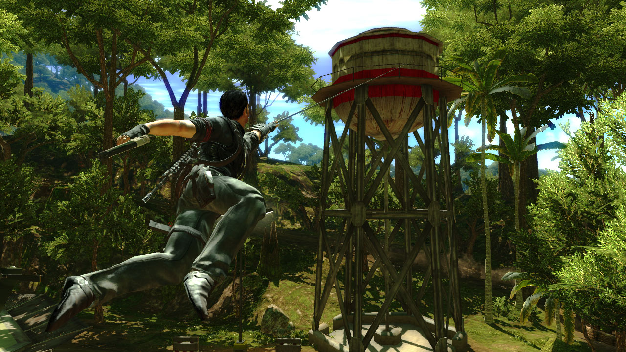 Just Cause 2 Haken