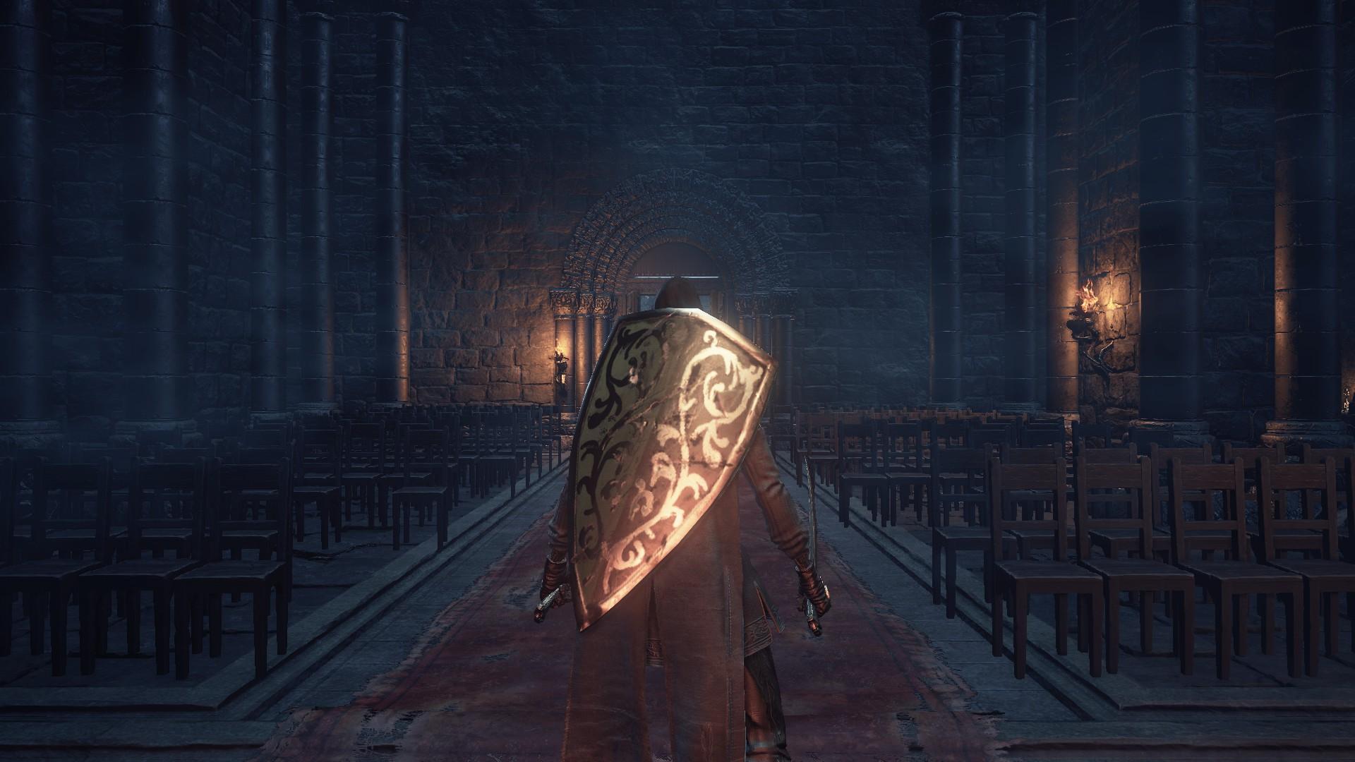 Dark Souls - Wir betreten eine düstere Kapelle