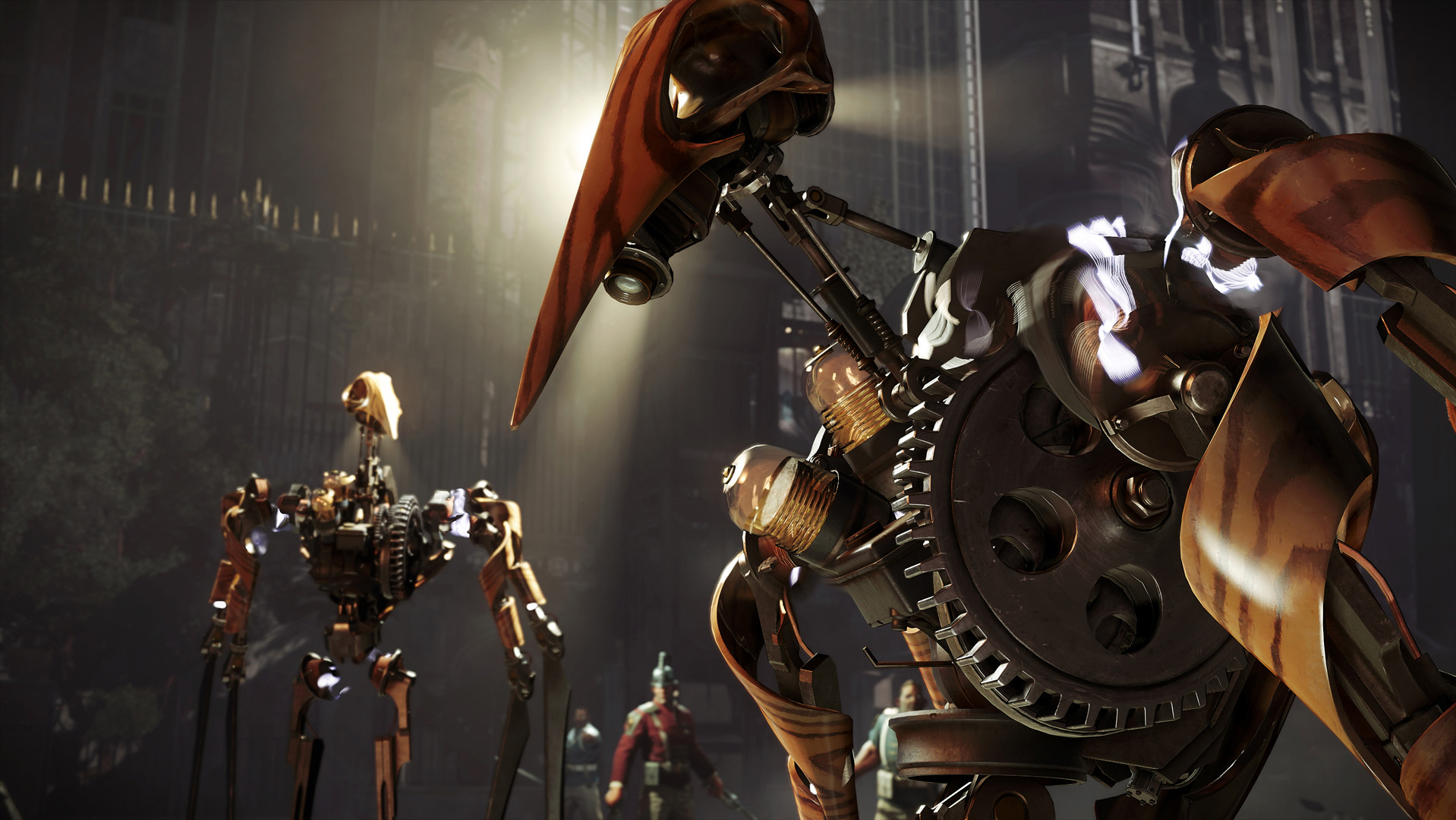 Dishonored 2 mechanische Soldaten