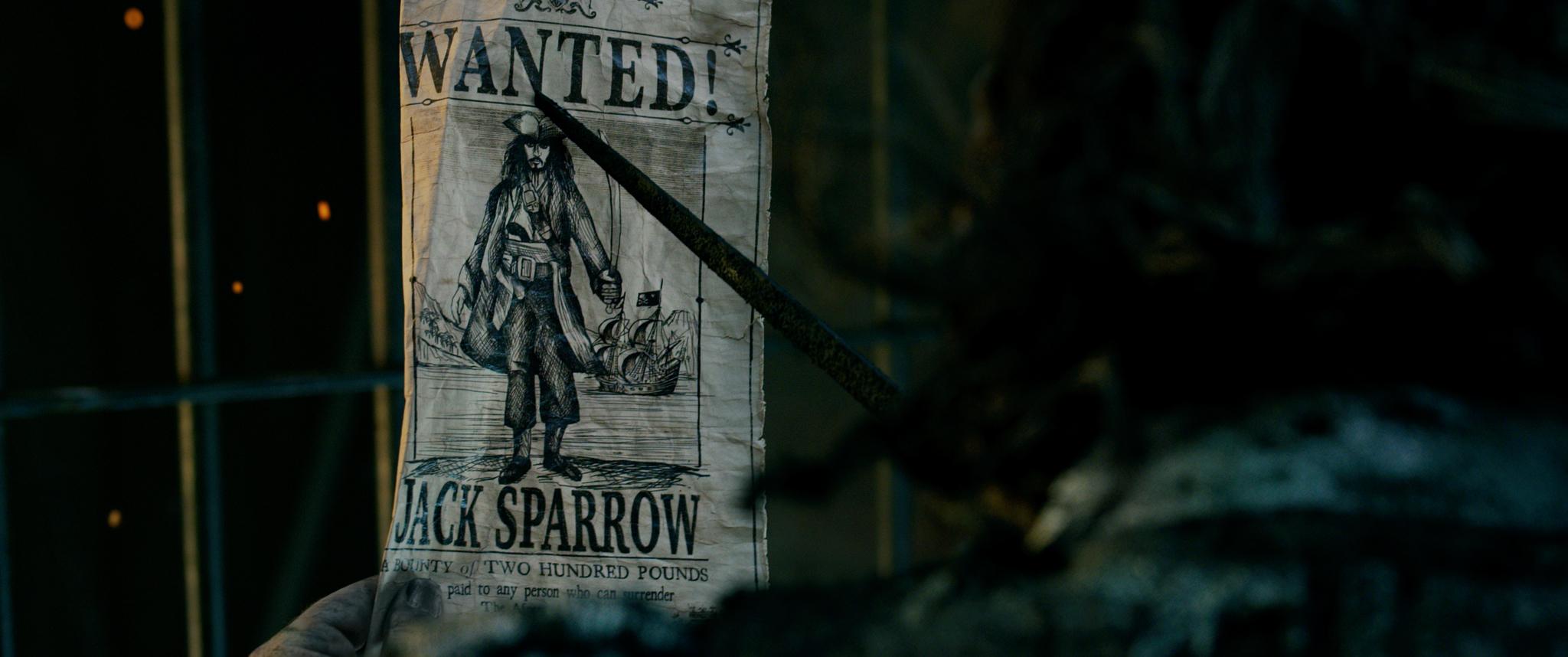 Steckbrief Jack Sparrow