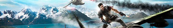 Just Cause 2 Banner