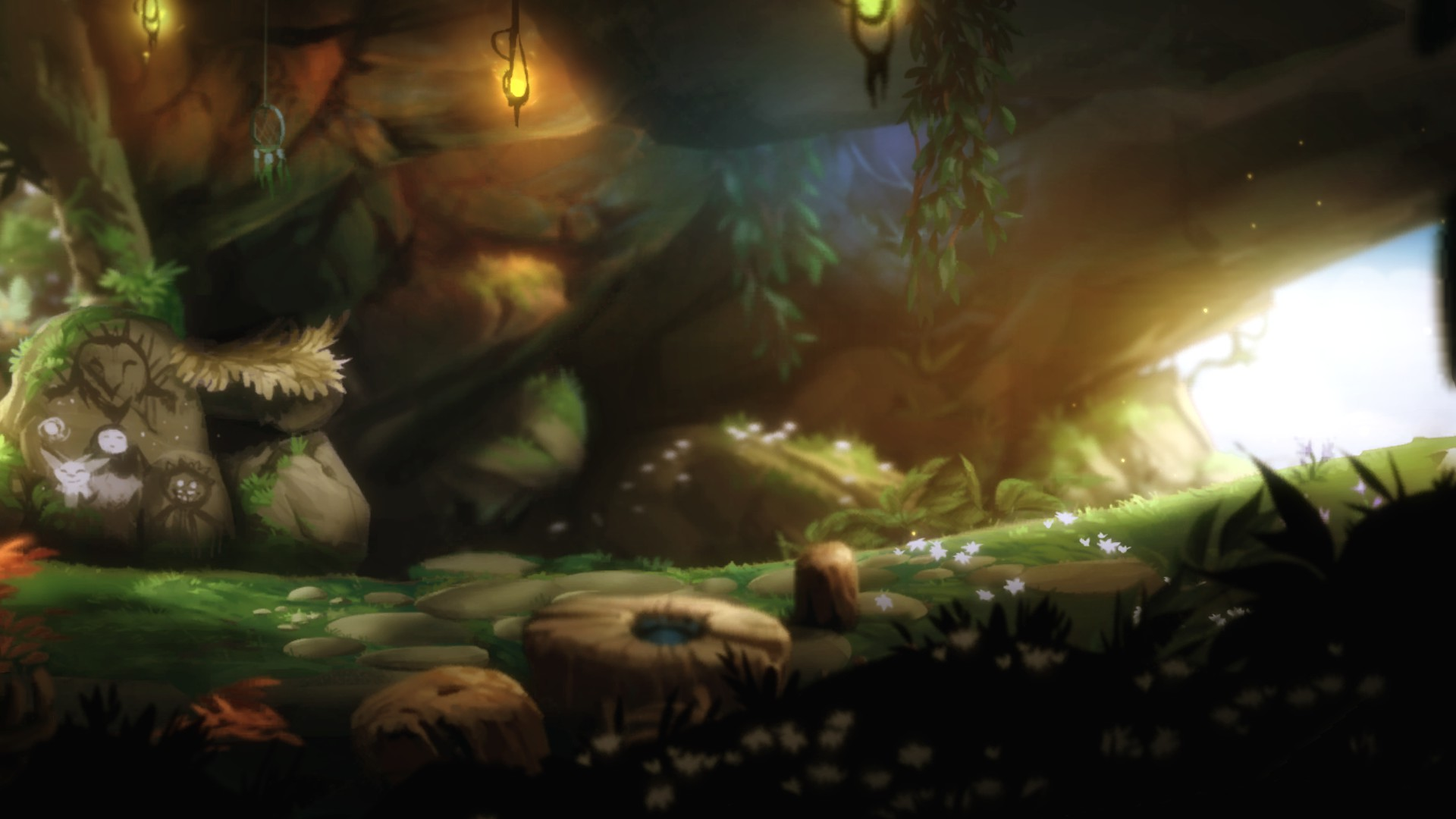 Ori and the Blind Forest Höhle