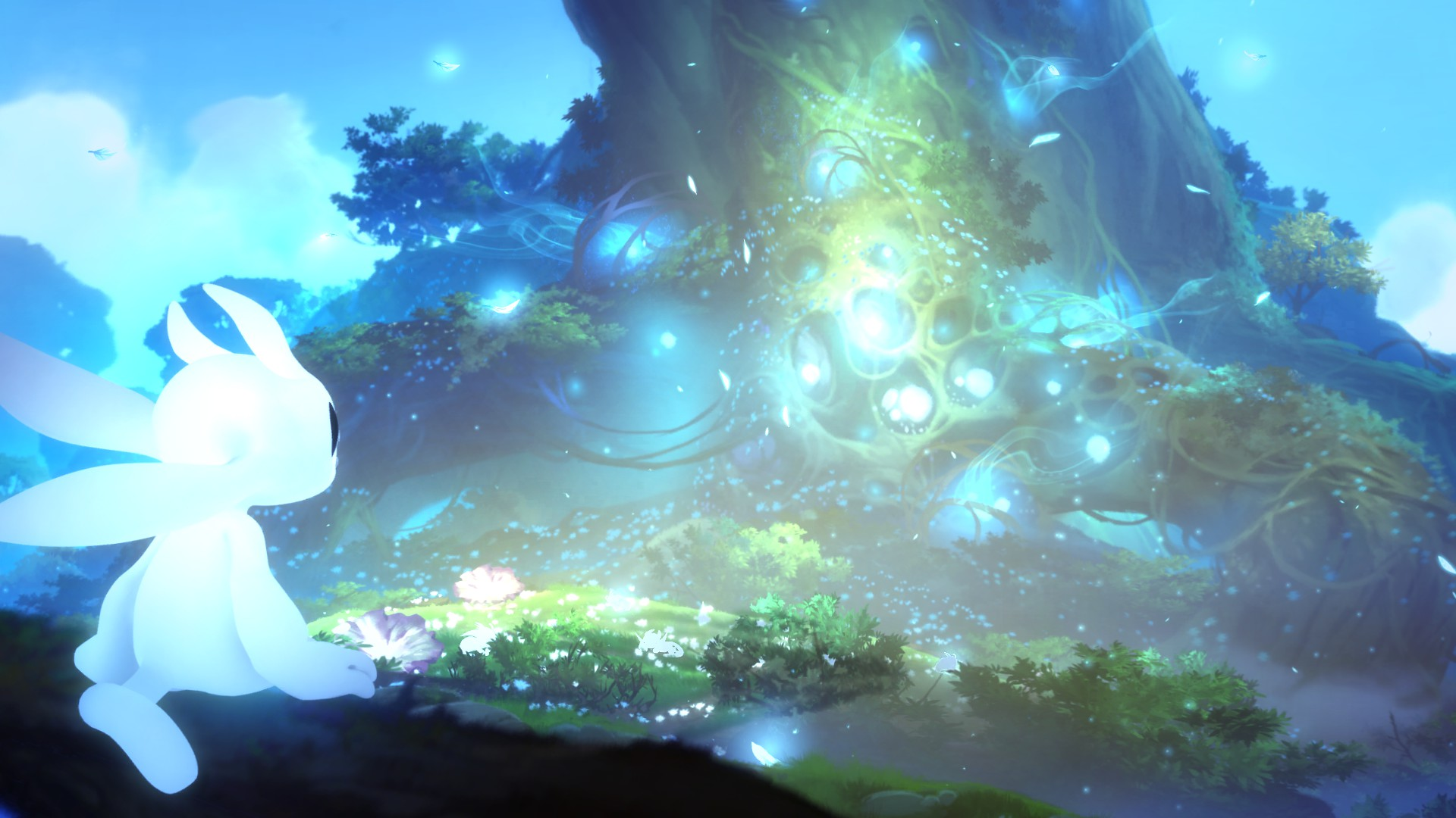 Ori and the Blind Forest Ori Baum