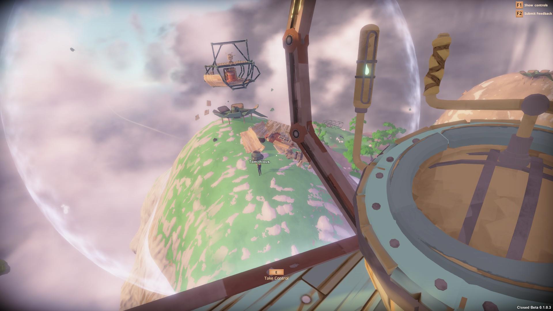 Worlds Adrift Spieler