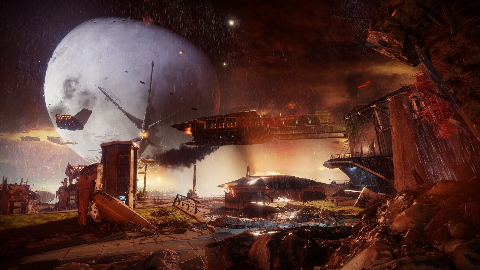 Destiny 2 Regen Panorama