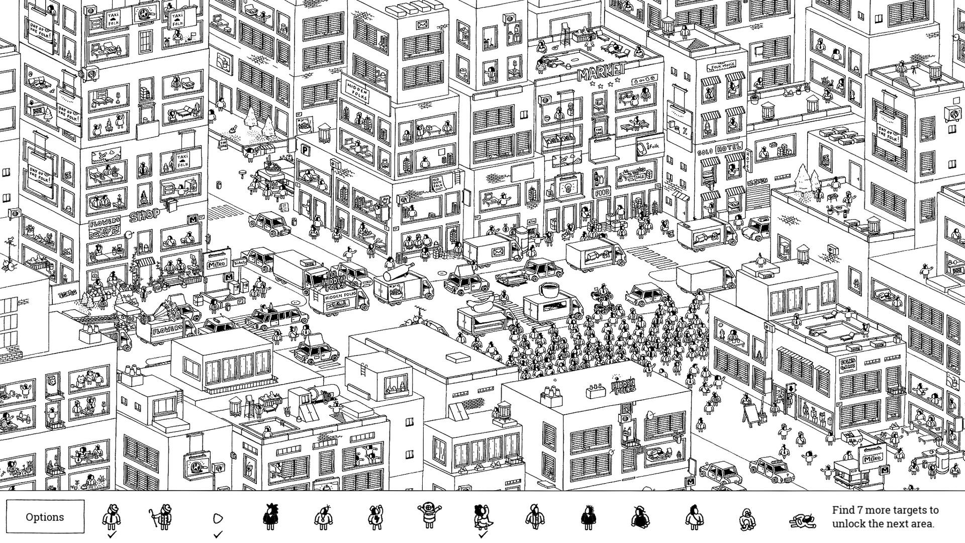 Hidden Folks Stadt