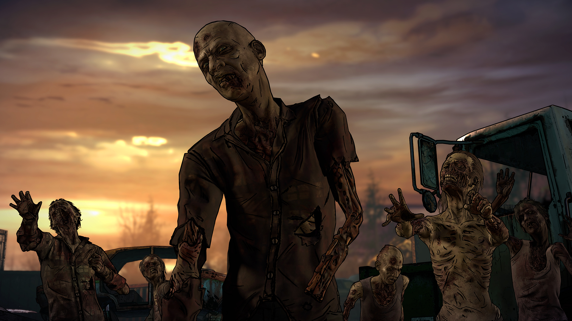 The Walking Dead A New Frontier Walker