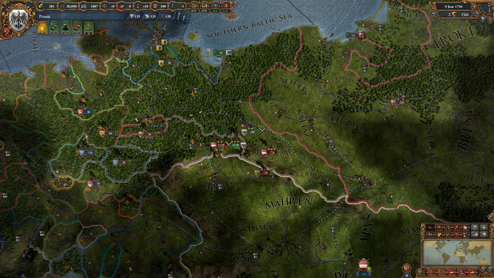 Europa Universalis 4 Preußen