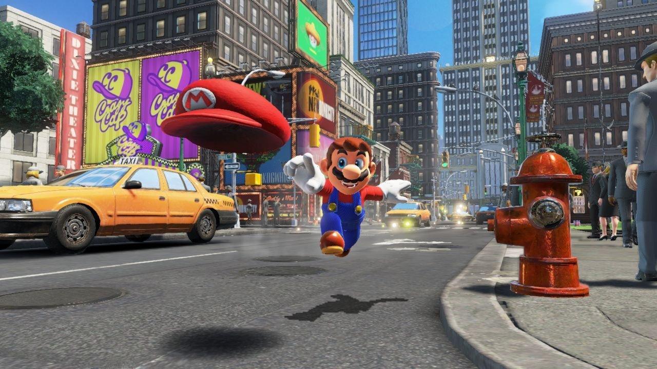 Super Mario Odyssey Stadt