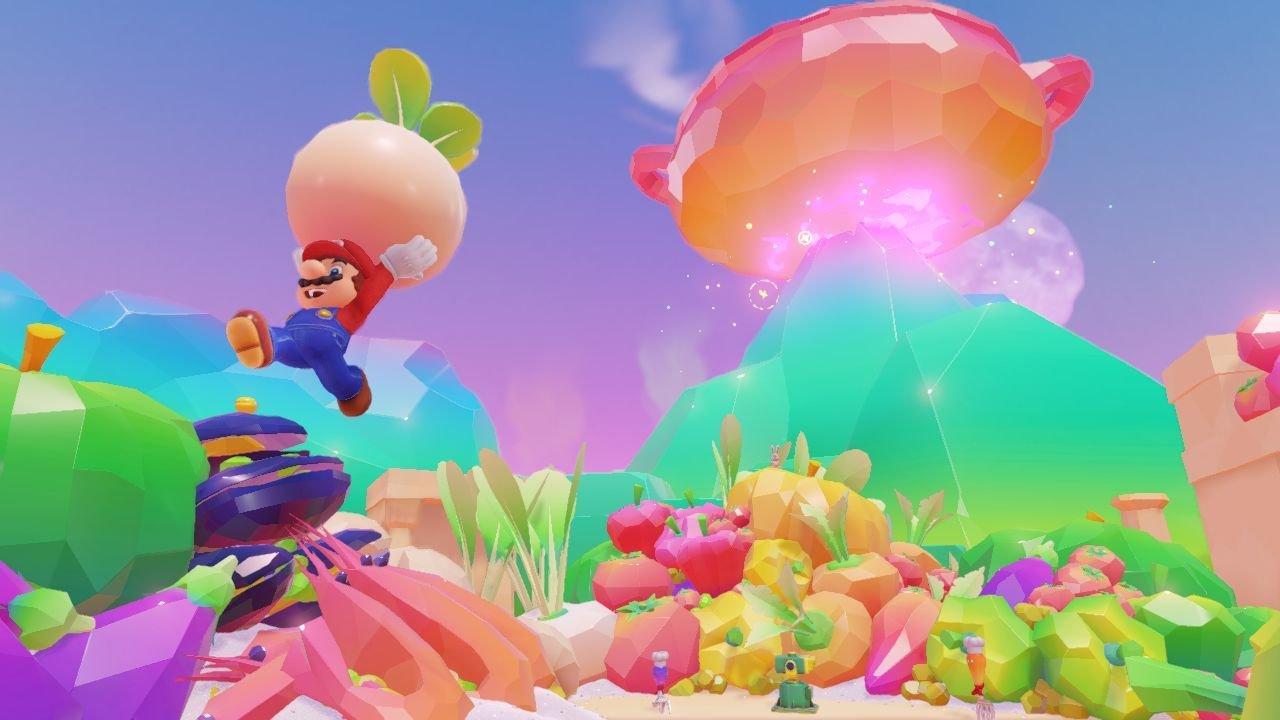 Super Mario Odyssey bunt