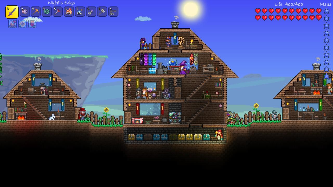 Terraria Haus