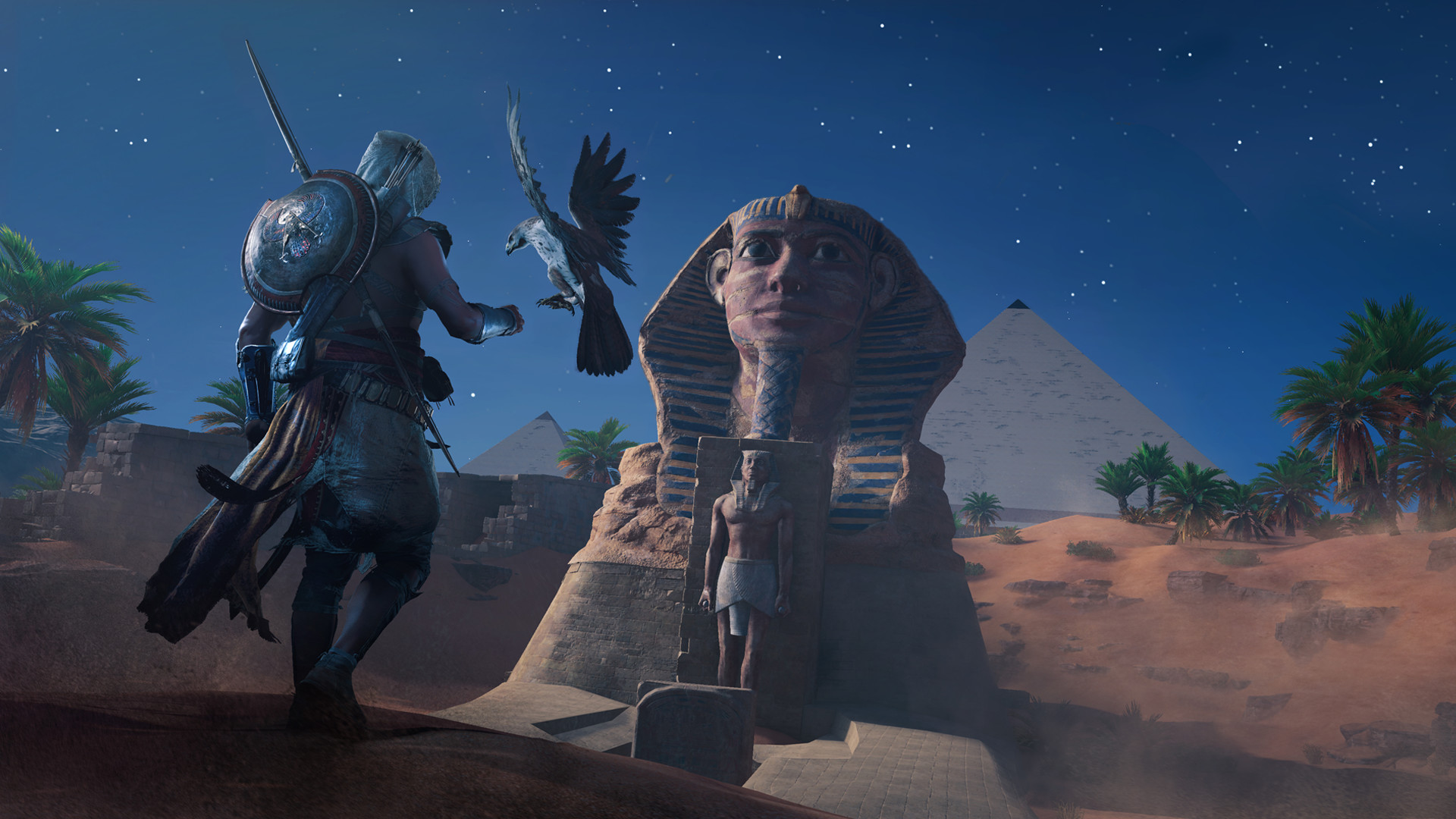 Assassin's Creed Origins Sphinx