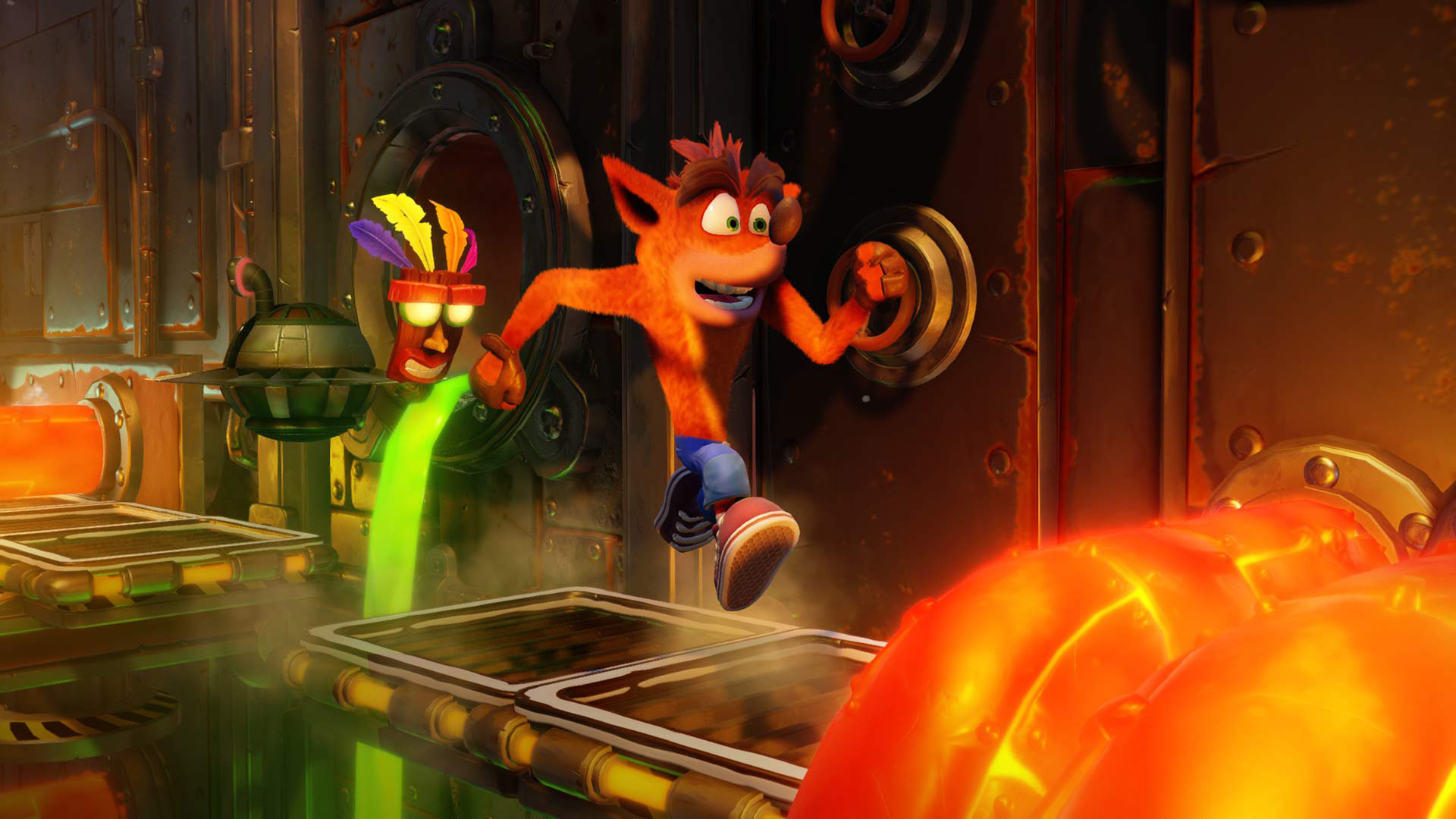 Crash Bandicoot N. Sane Trilogy Metall
