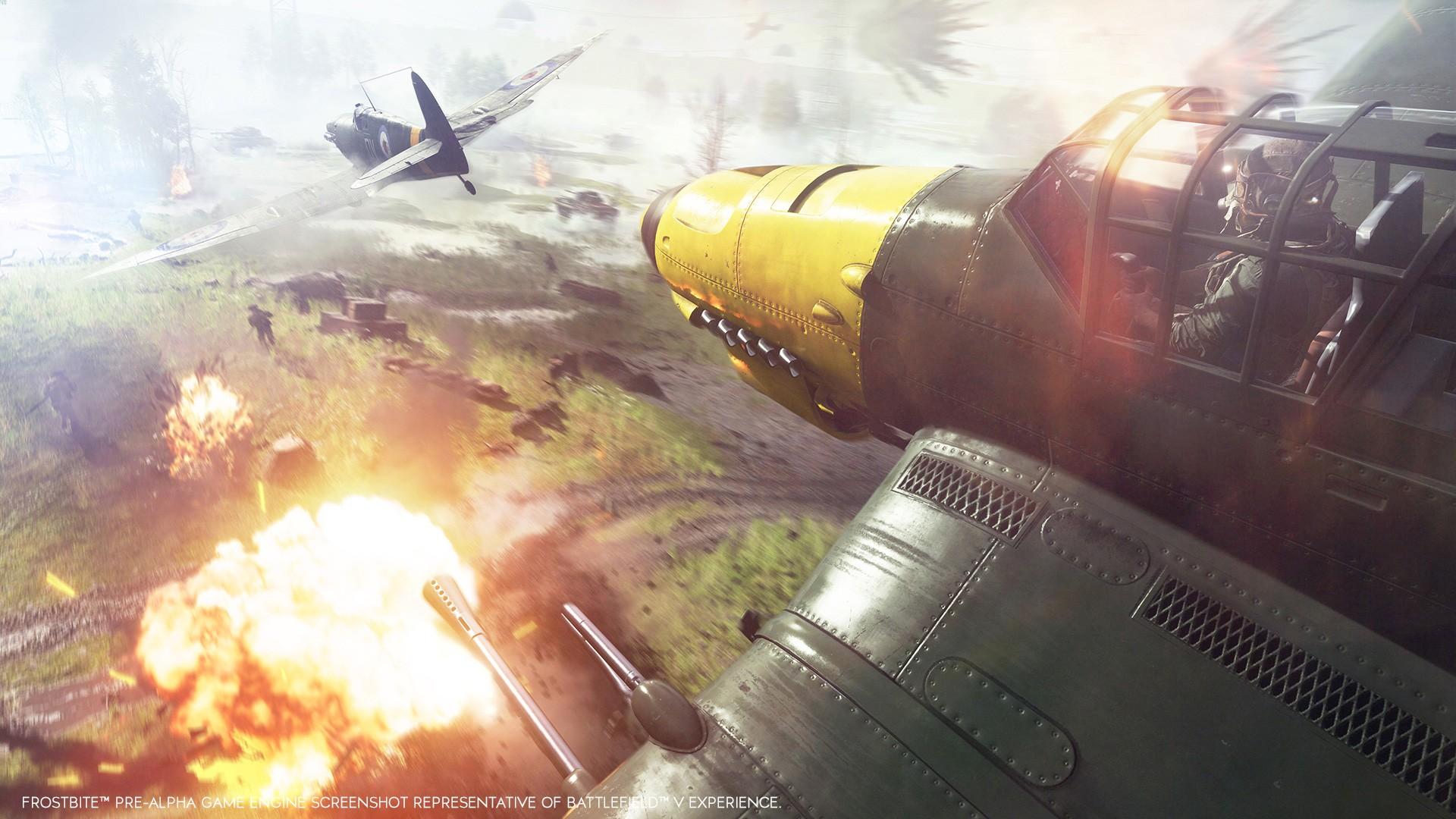 Battlefield 5 Flugzeug