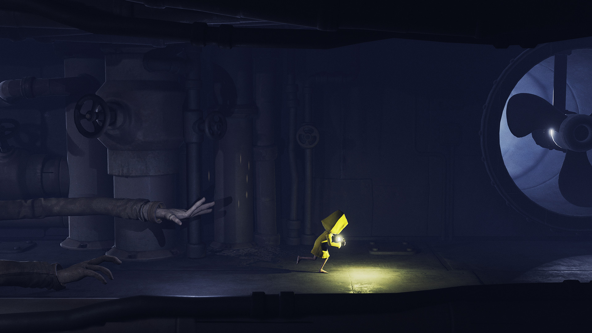 Little Nightmares Arme