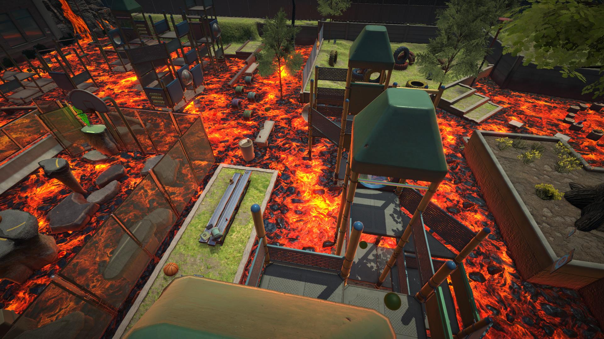 Hot Lava Schulhof