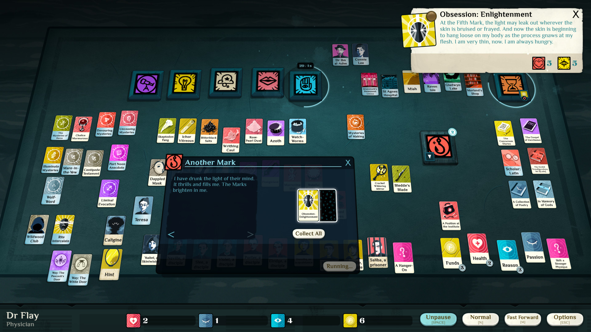 Cultist Simulator Enlightenment