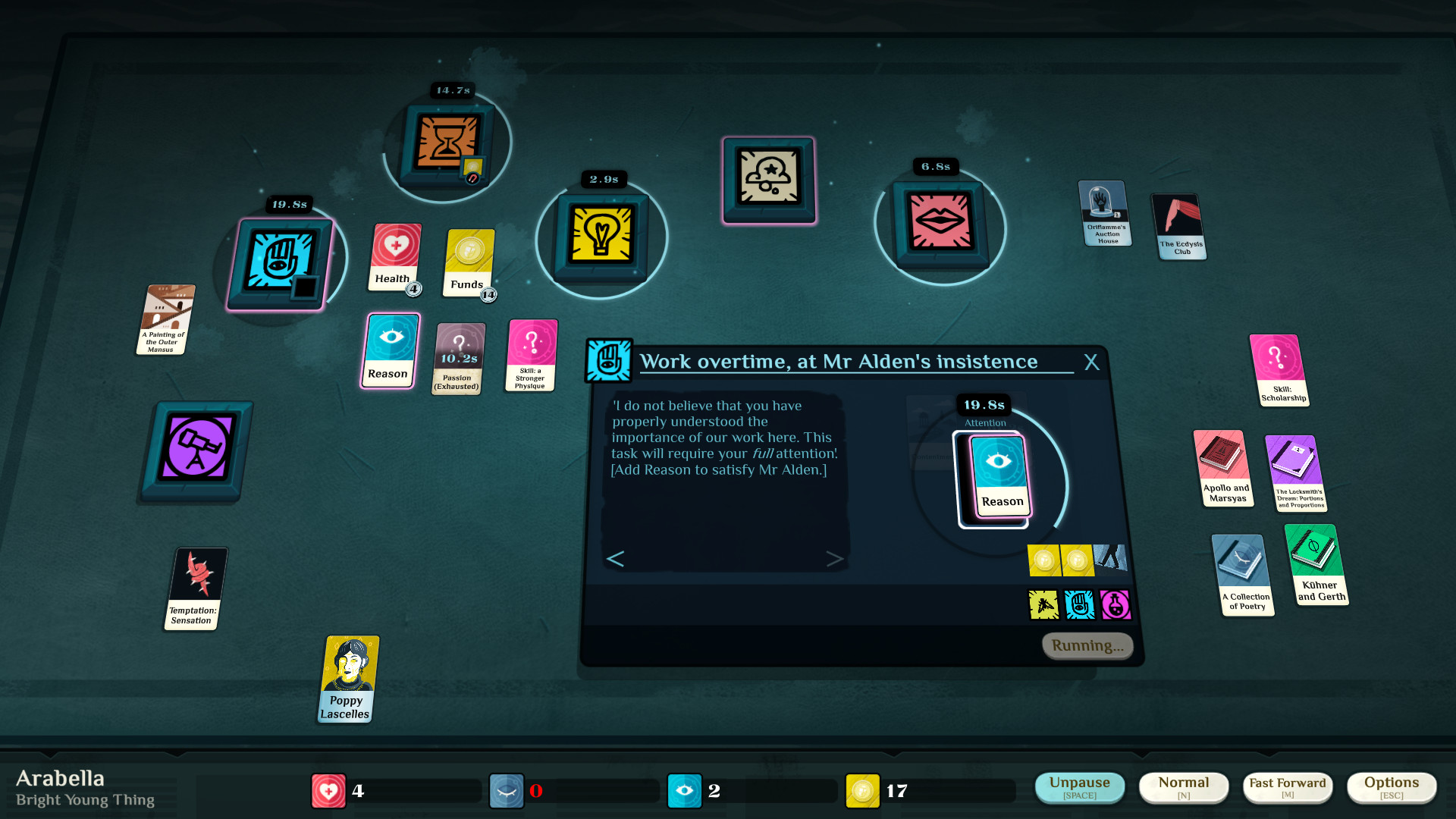 Cultist Simulator Work