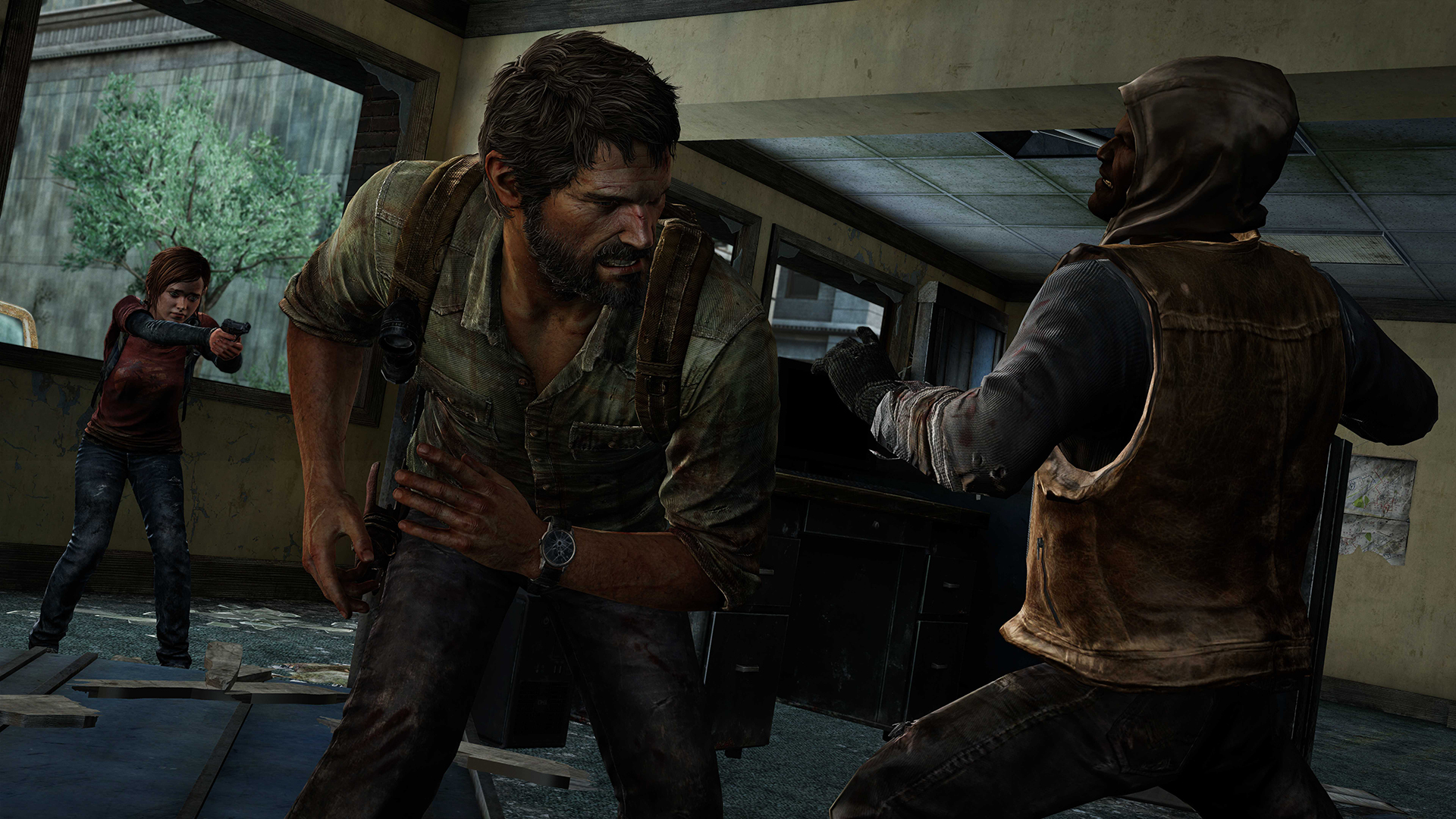 The Last of Us Remastered Kampf