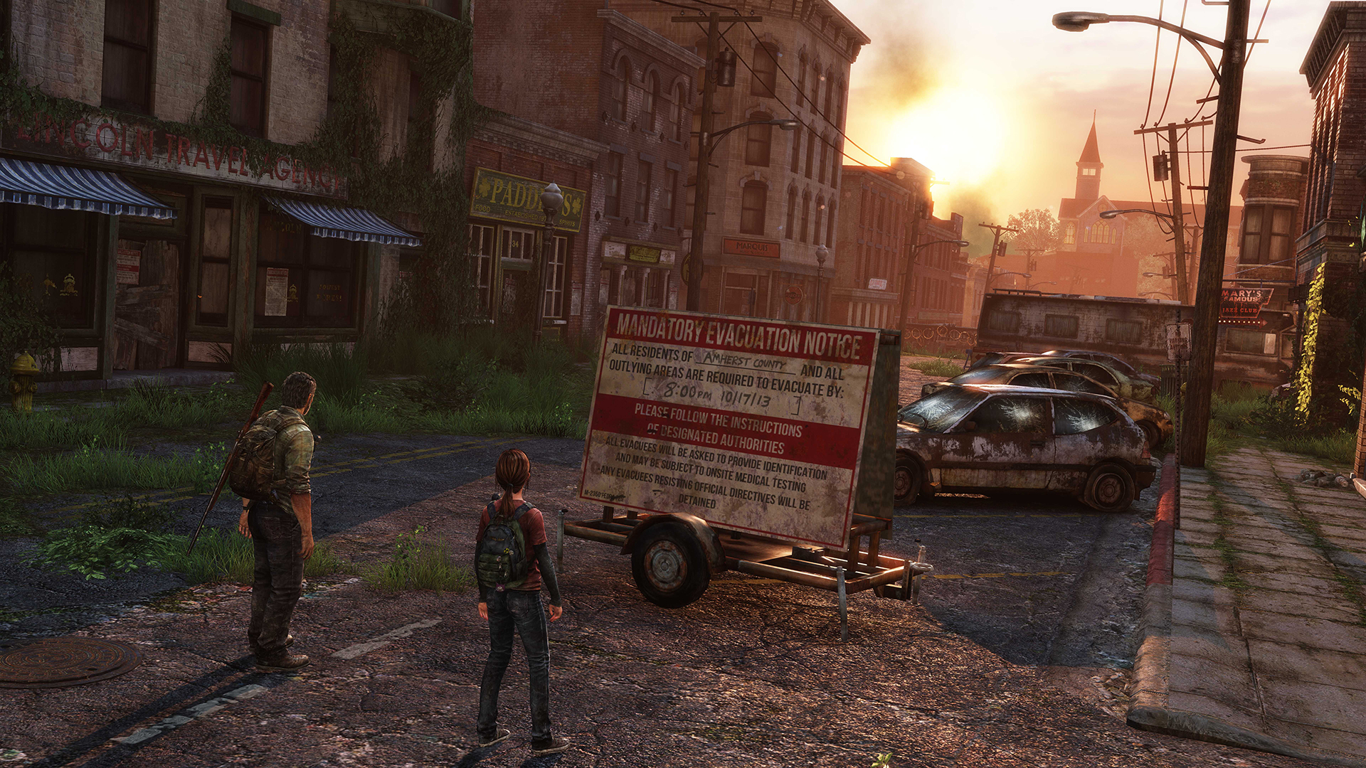 The Last of Us Remastered Straße