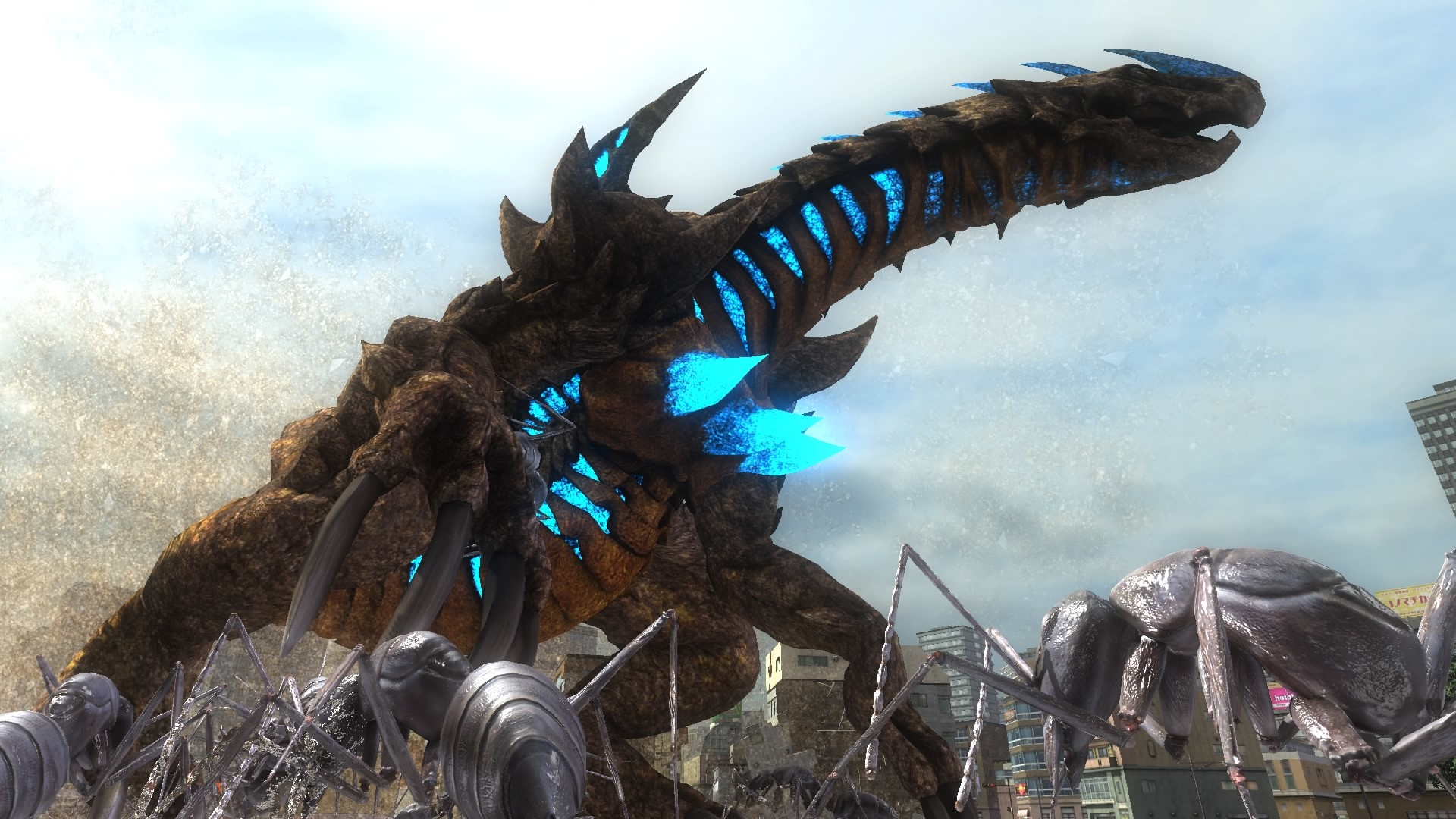 Earth Defense Force 5 Boss