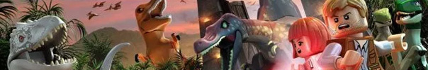 LEGO Jurassic World Banner