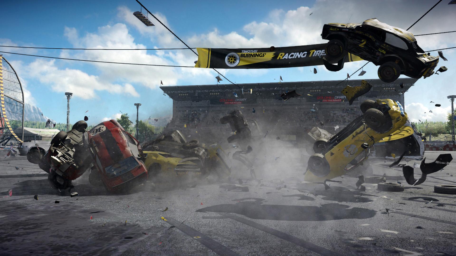 Wreckfest Crash