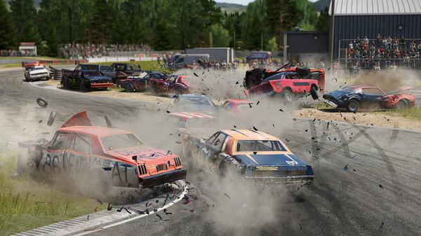 Wreckfest Rennen Crash