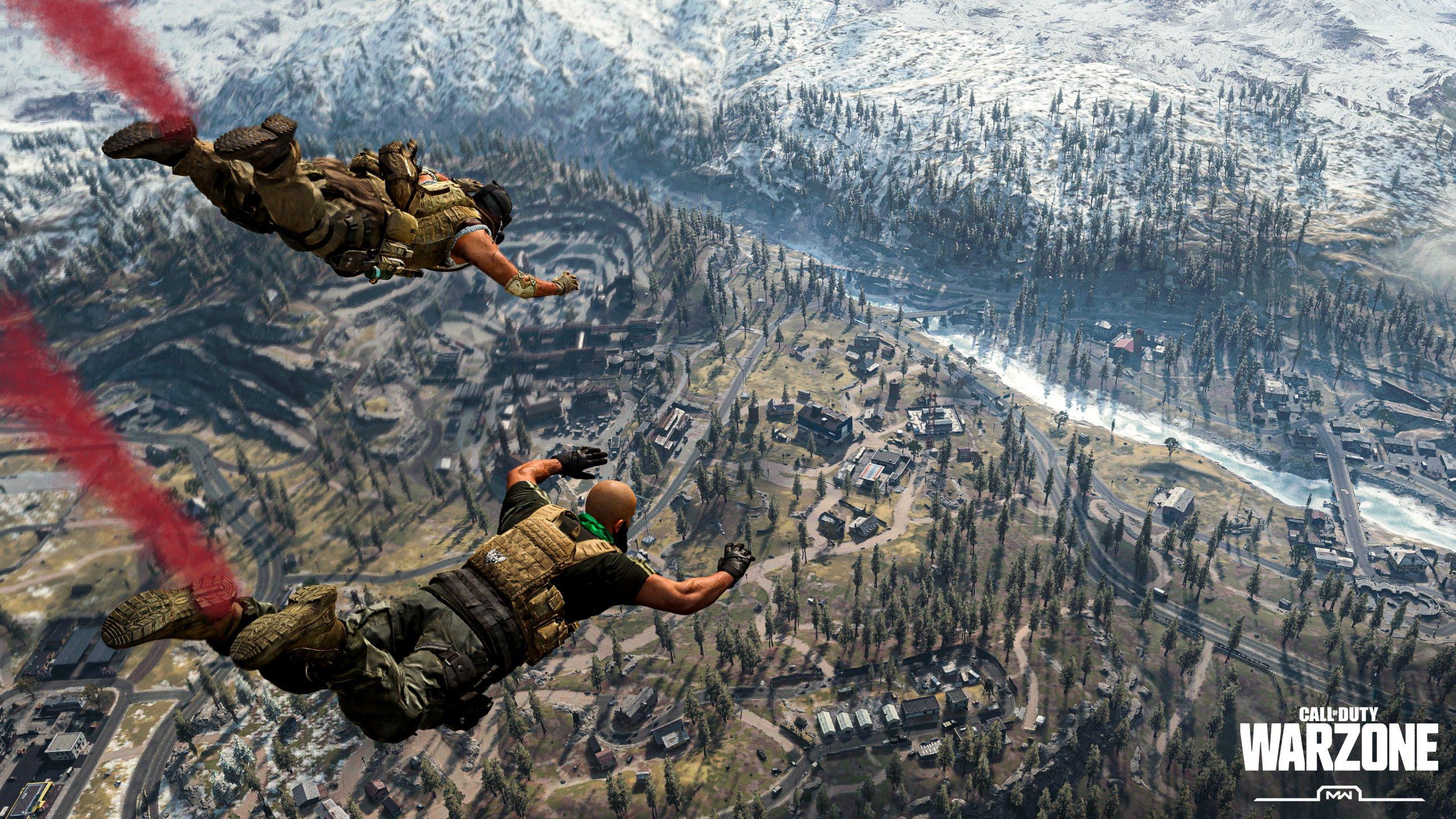 Call of Duty Warzone Fallschirm