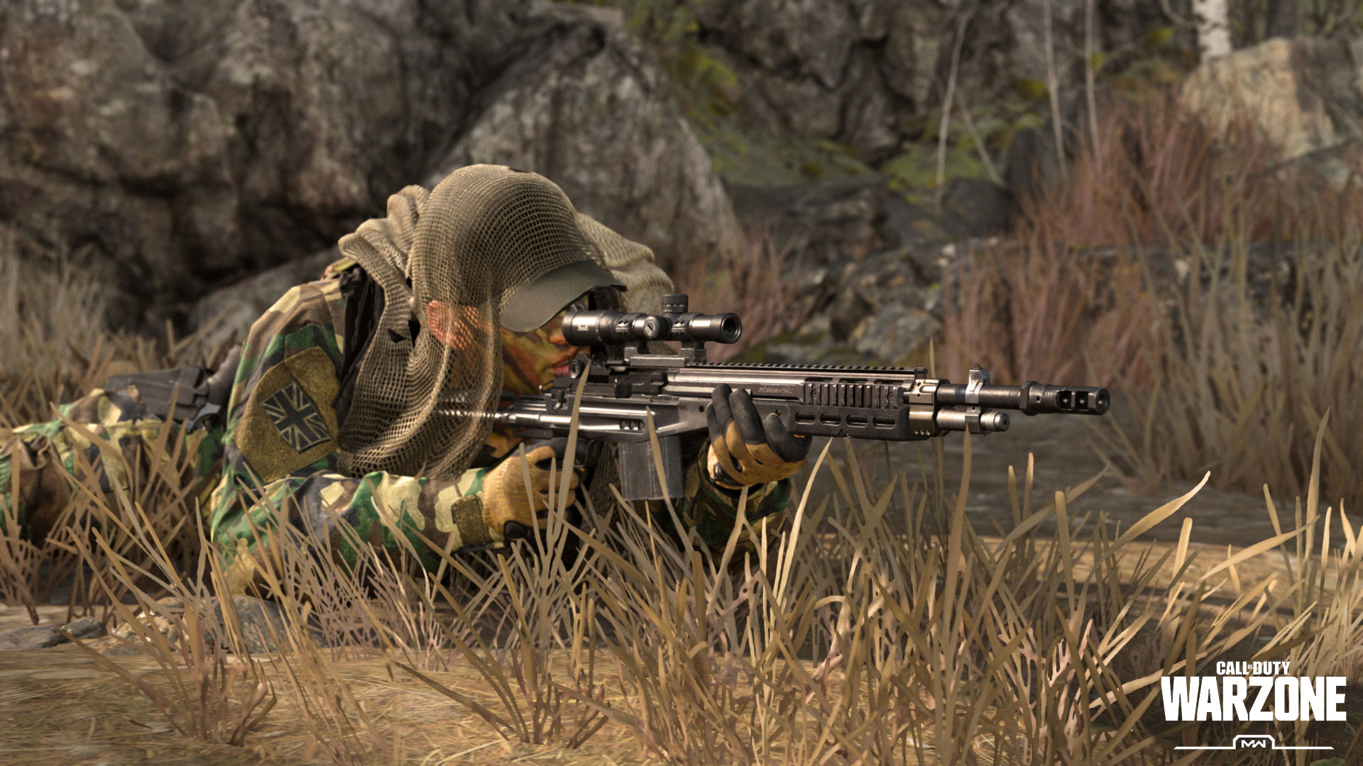 Call of Duty Warzone Sniper