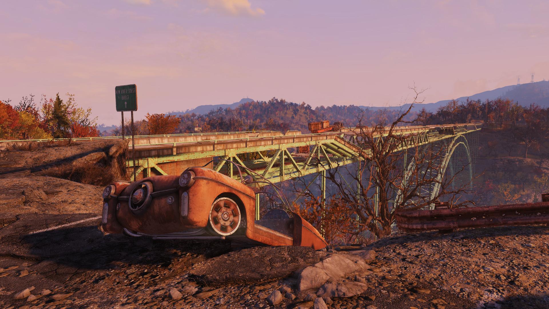 Fallout 76 Brücke