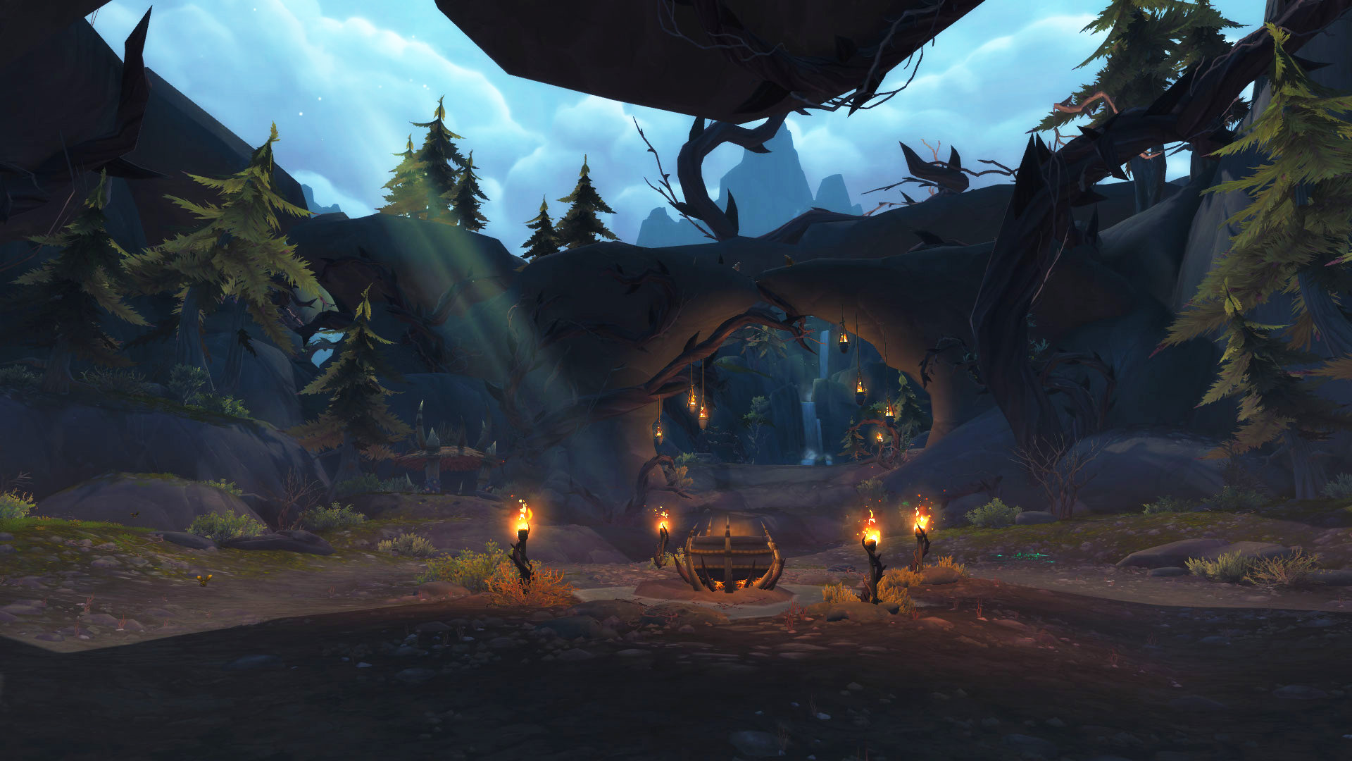 Insel der Verdammten Höhle